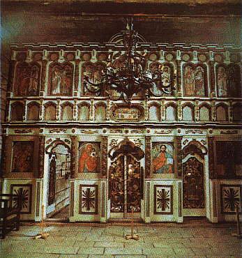 Ужгород. Михайлівська церква. 1777 р. Іконостас
